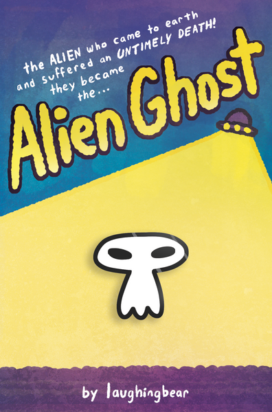 Alien Ghost Enamel Pin