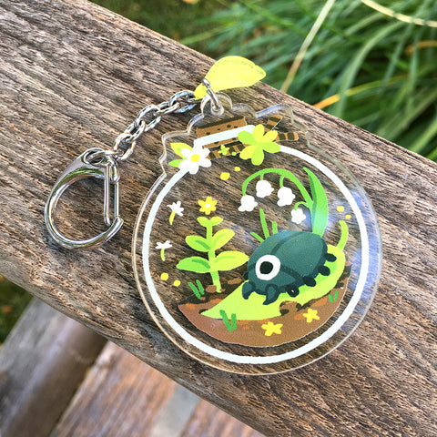 Beetle Bottle Charm