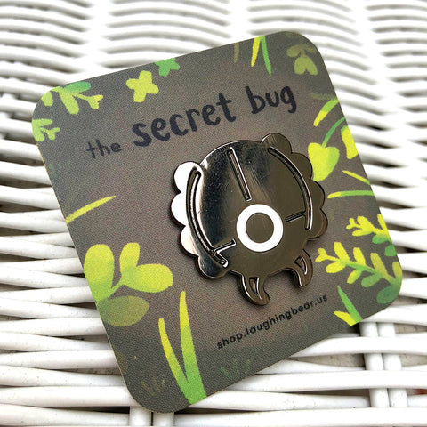 Secret Bug Enamel Pin