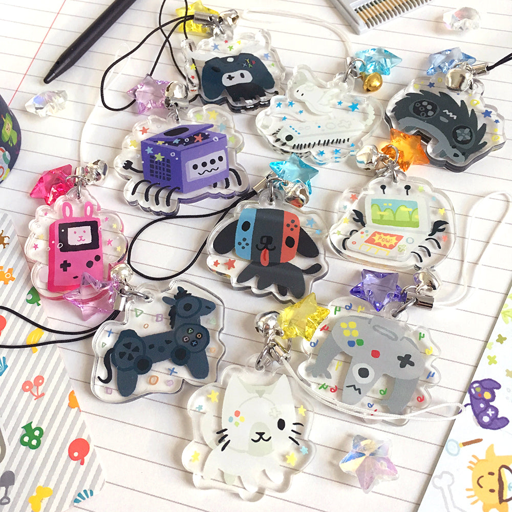 Console Critter Charms