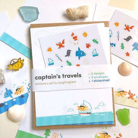 Captain's Travels Stationery Set [Coming Soon]