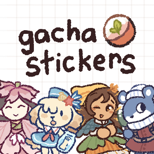 Sticker Gacha Vol.1: Seasonal Friends