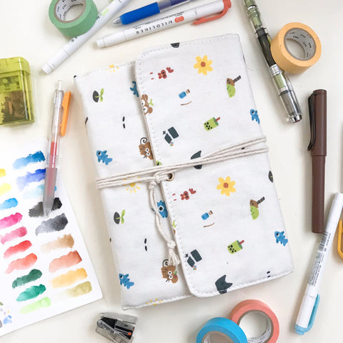 My Favorite Things Fabric Binder