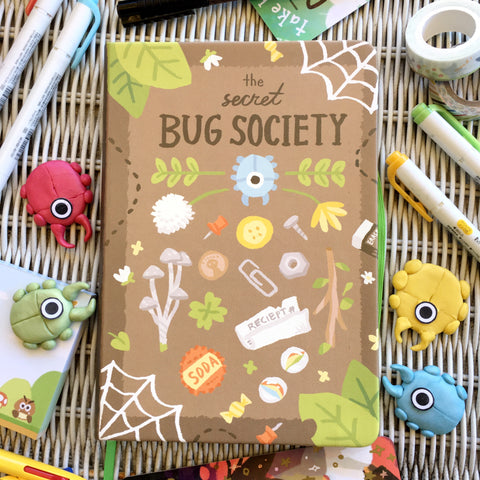 Secret Bug Society Notebook