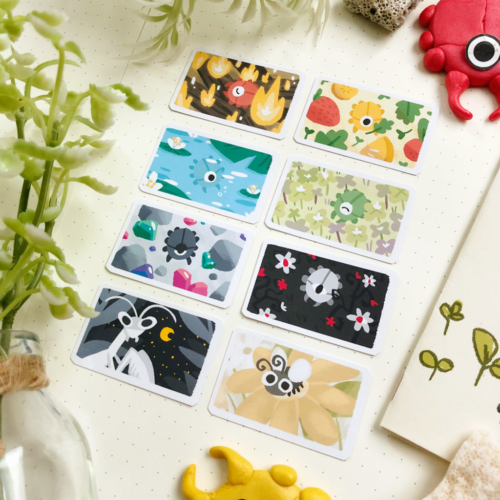 Let's Meet the Secret Bugs Sticker Set