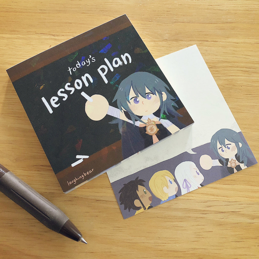 Byleth's Lesson Plan Memo Pad