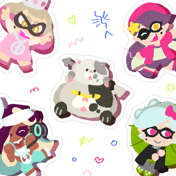 Limited Edition Memcakes Stickersheet