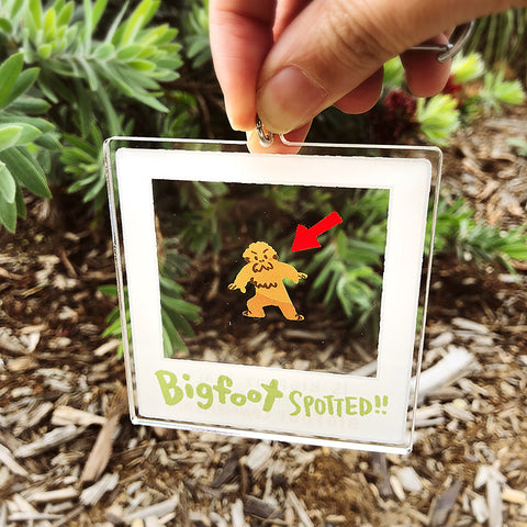 Bigfoot Photo Charms