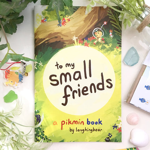 to my small friends: a pikmin zine