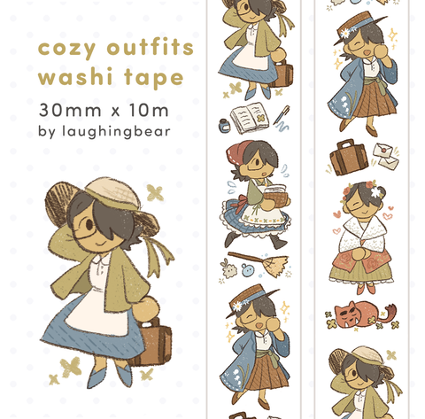 Cozy Outfits Washi Tape