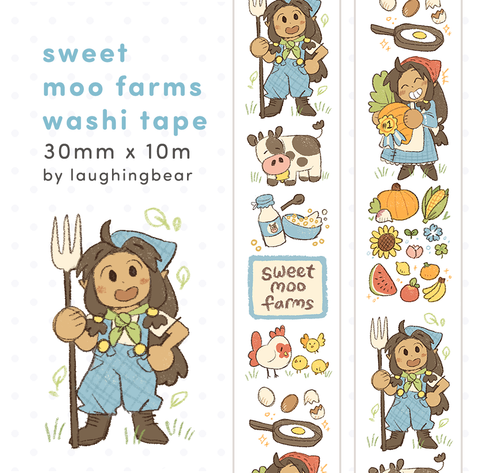 Sweet Moo Farms Washi Tape