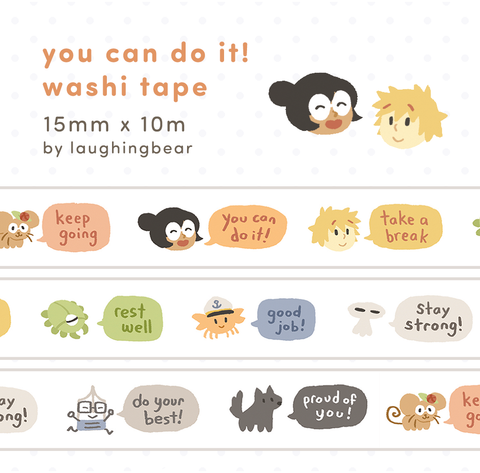 You Can Do It! Washi Tape