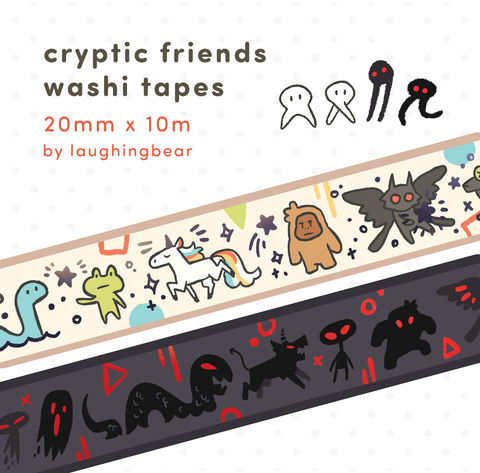 Cryptic Friends Washi Tape