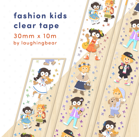 Fashion Kids Clear Tape