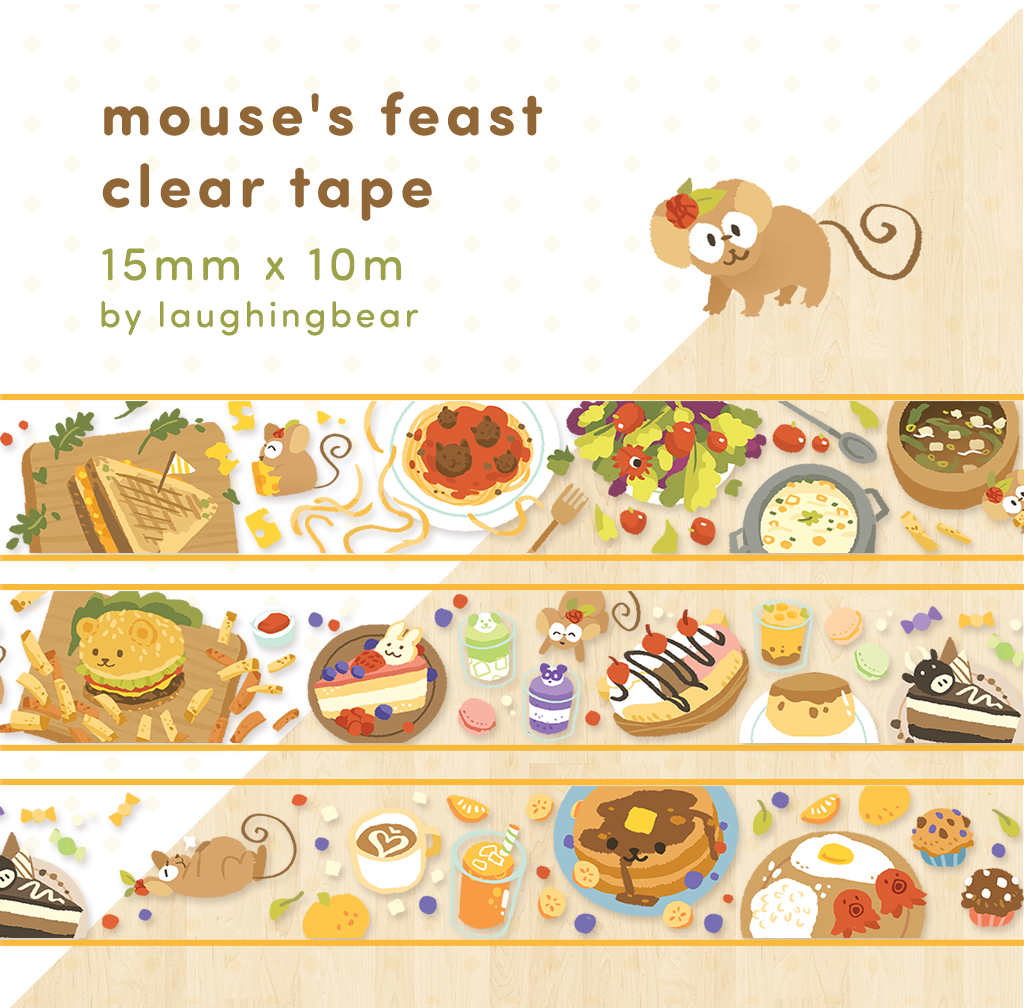 Mouse's Feast Clear Tape (misprint)
