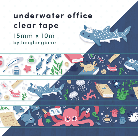 Underwater Office Clear Tape