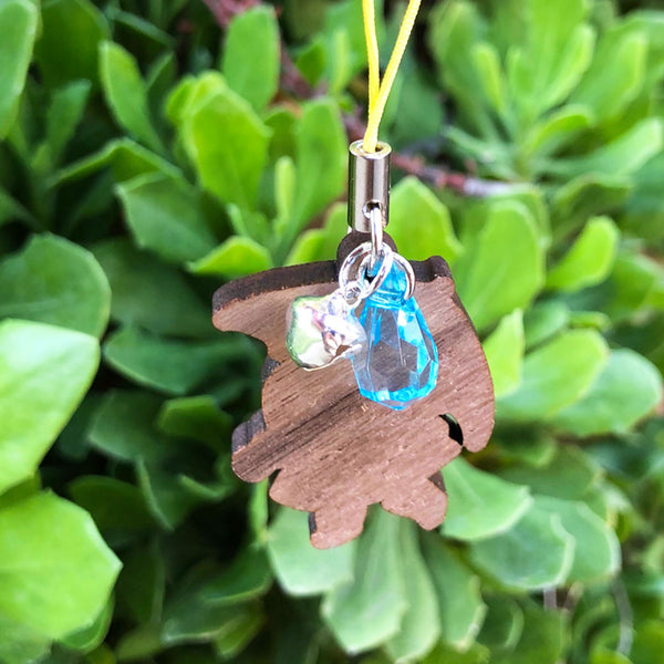 Rainy Day Wood Charm