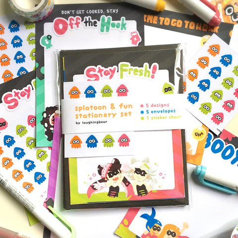 Splatoon Stationery Set [Coming Soon]