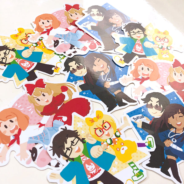 Style Savvy Girls Sticker Set