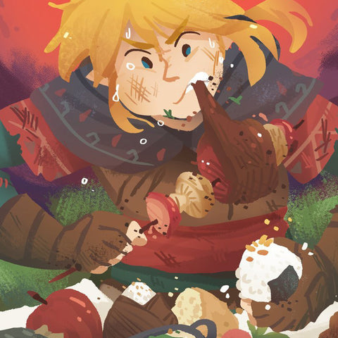 BOTW Battle Feast Print