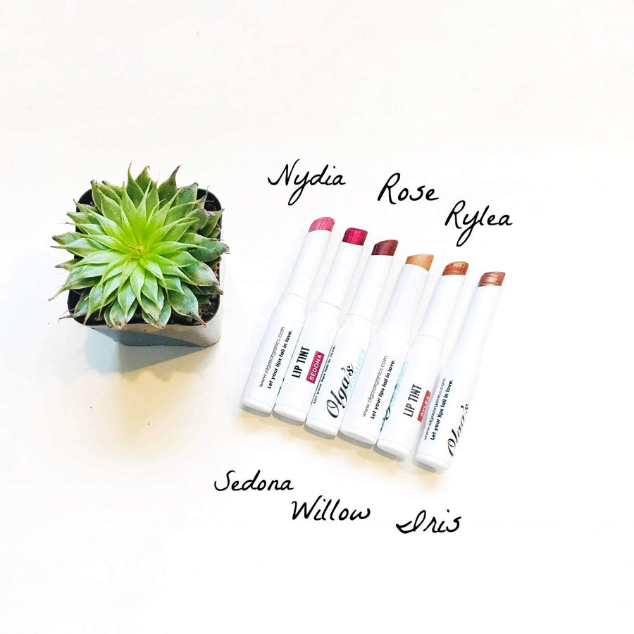 Organic & Mineral Lip Tints - Willow - Olga's Organics