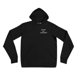 Coffee vs Everybody hoodie