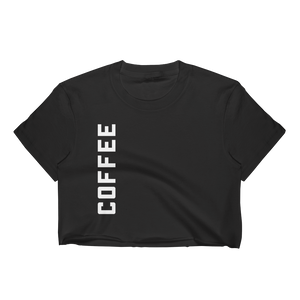 COFFEE crop top