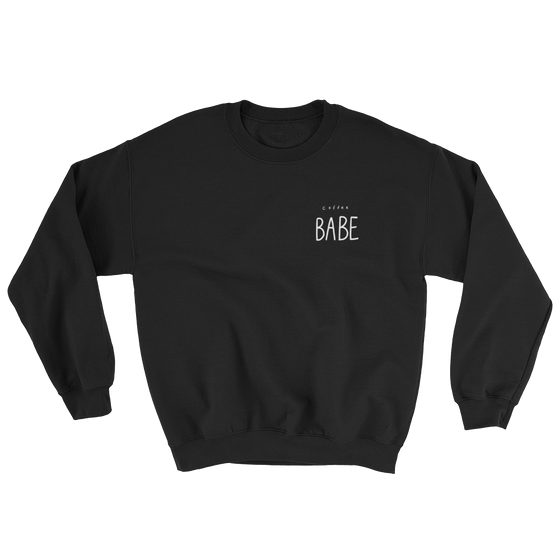 Coffee babe Sweatshirt