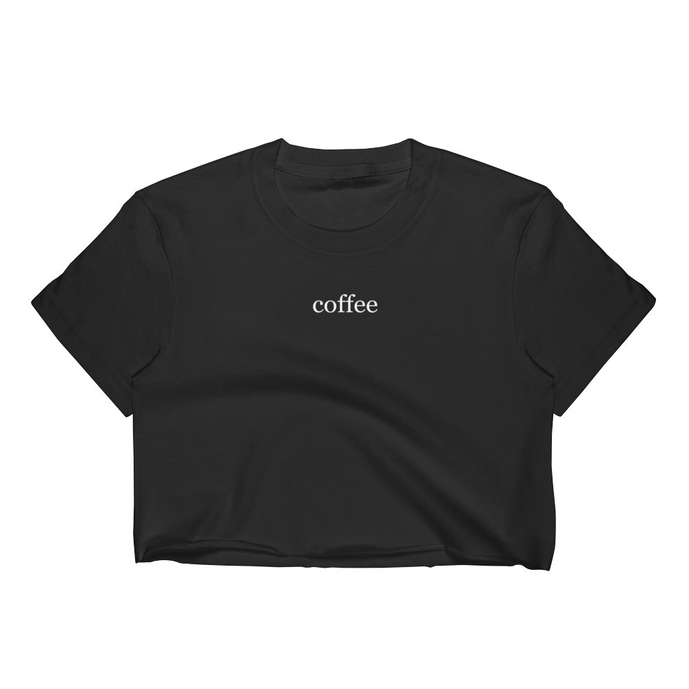 5cb3f7d566c The latte Crop Top - Coffee and tings