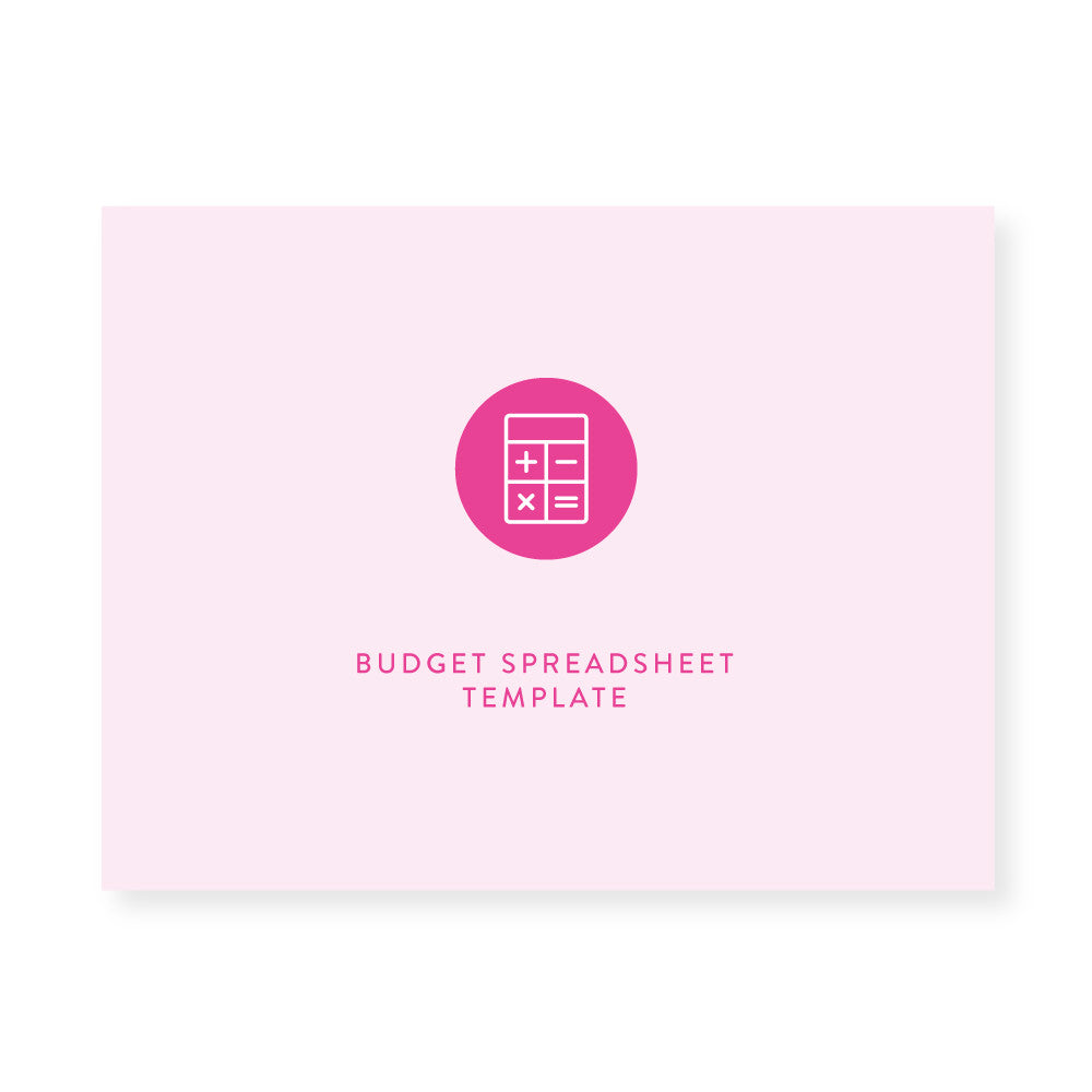 Yearly Budget Spreadsheet | Template