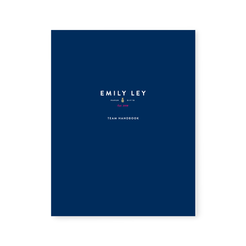 Template: Team Handbook - Emily Ley Playbook