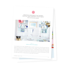 Tales from a Work-from-Home-Mom | FREE Mini-guide