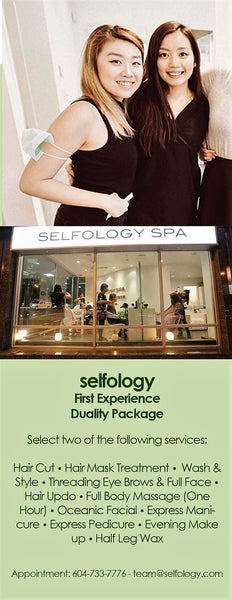 selfology spa massage hair couple