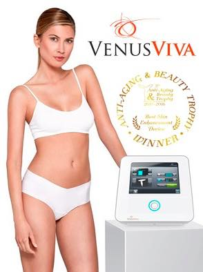 Venus Viva NanoFractional Radio Frequency Skin Resurfacing 【納米飛梭電波】逆時凍齡  緊緻煥膚