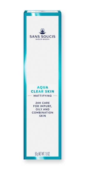 San Soucis Aqua Clear Skin 24hr Care for Impure, Oily Skin