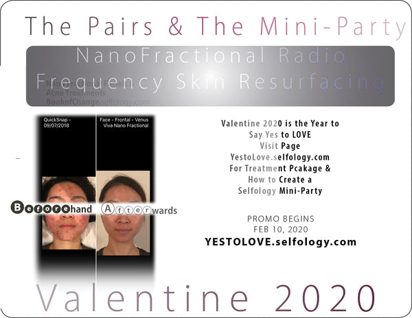 "[ Valentine 2020 Edition ] - ""Pairs Experience""- Venus Viva NanoFractional Radio Frequency Skin Resurfacing 【納米飛梭電波】逆時凍齡 緊緻煥膚"
