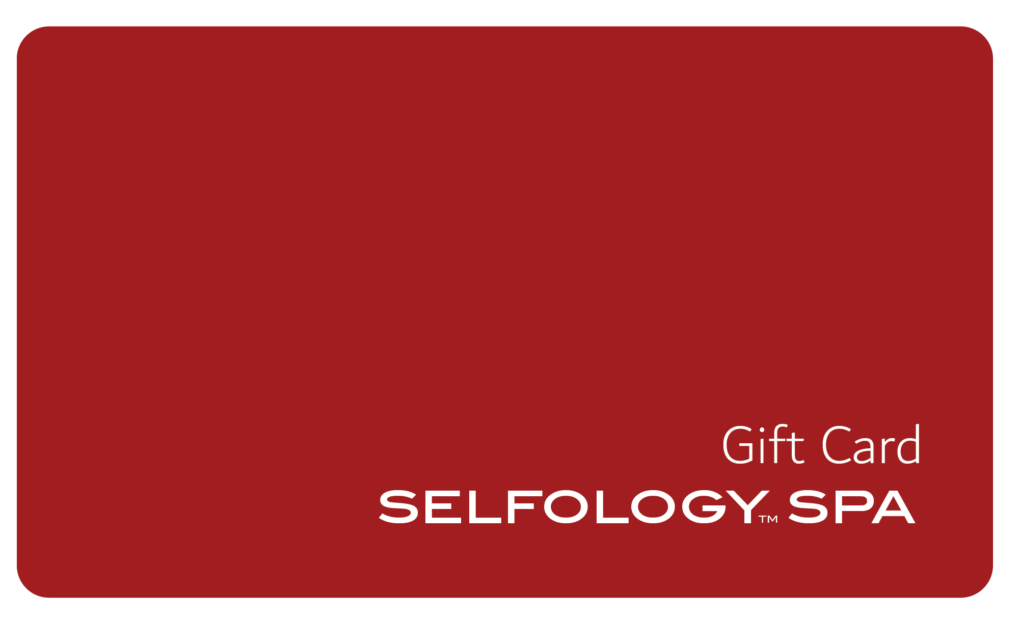 $50 Store Credit Gift Card - A Gift of Selfology