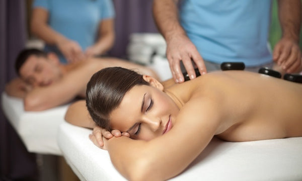 Hot Stone Massage with Aromatherapy and Choice of Two Add-Ons