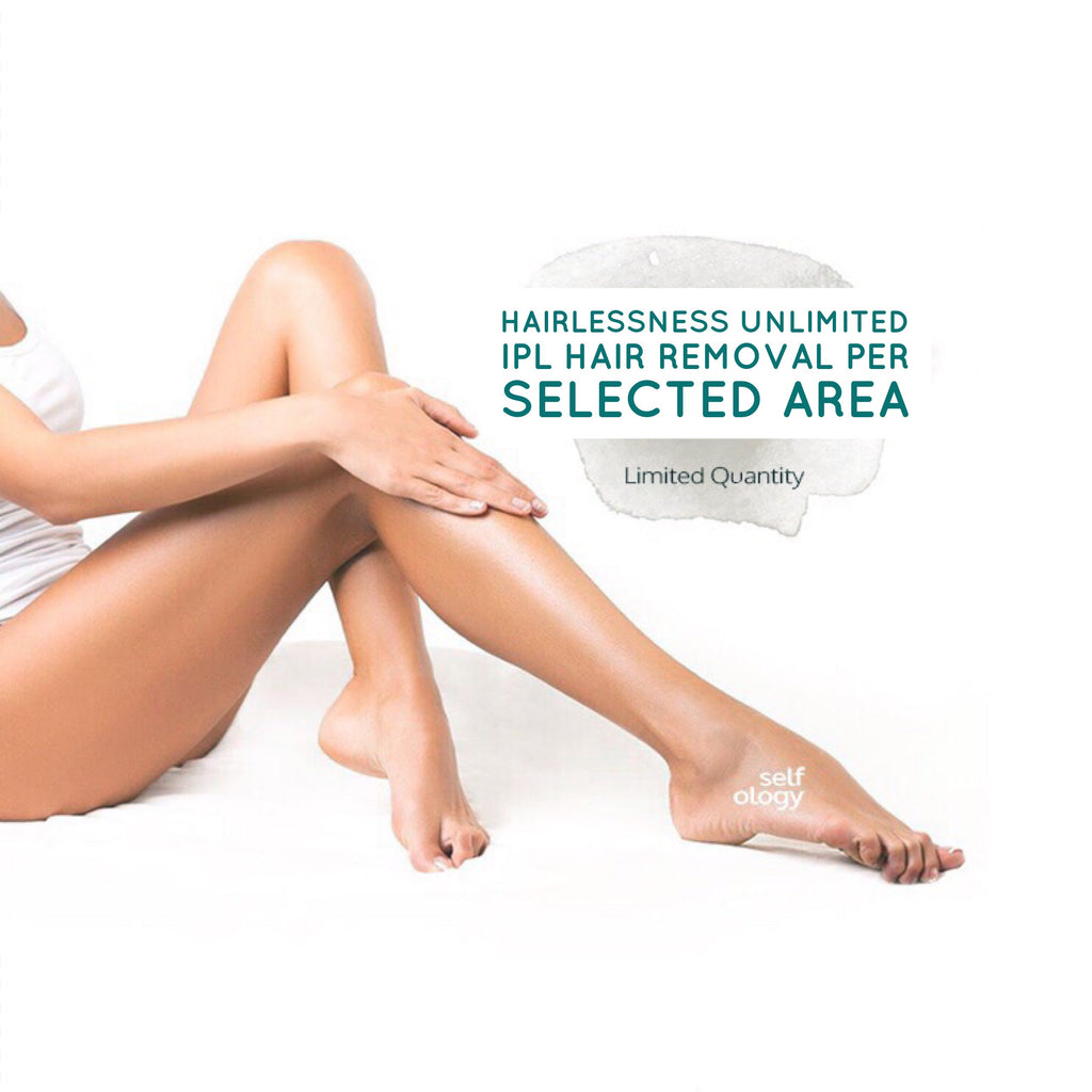 Hairlessness Unlimited - Pain Free Unlimited IPL Hair Removal Per Selected Area