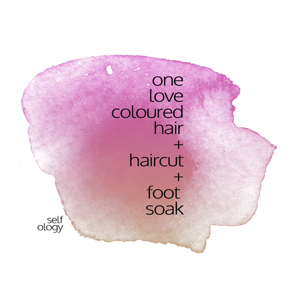 One Love Coloured Hair, Haircut & Foot Soak
