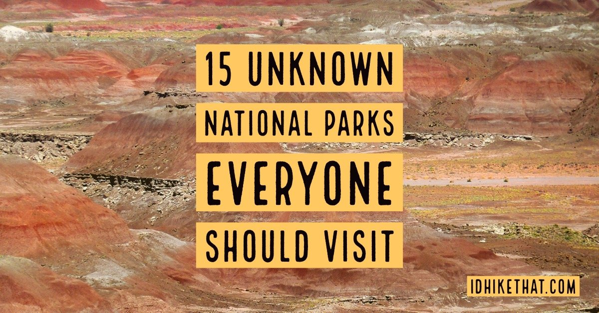 15 Unknown national parks everyone should visit. Do you know about these parks? Visit idhikethat.com to find out.