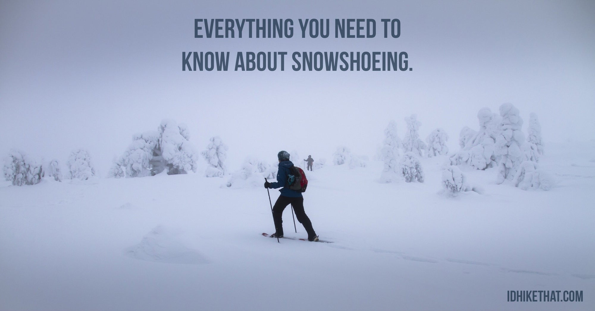 There is more to snowshoeing than people think. Find out what type of snowshoes and gear you need to have before hitting the trails.