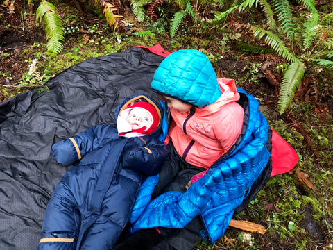 Layer up the kids for winter hiking