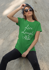 Live Laugh Hike! Poly Tee - Sport Kelly