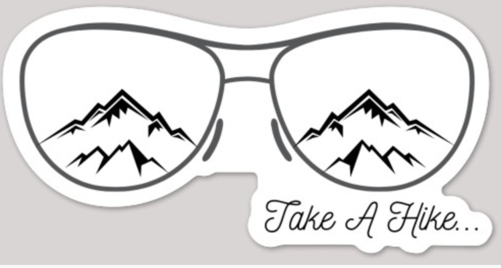 Take a Hike Car Vinyl