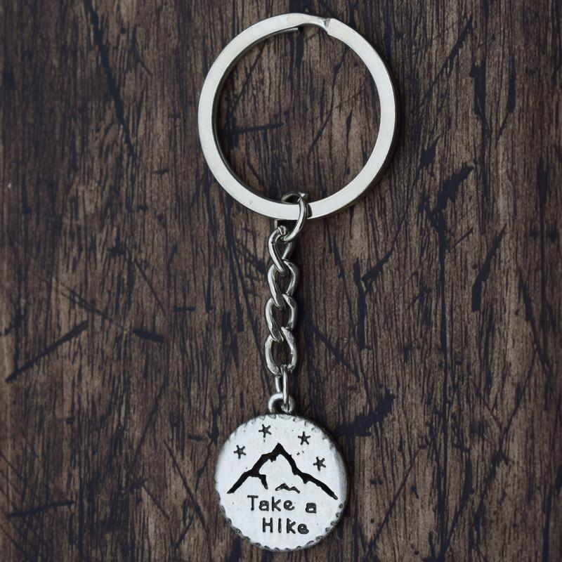 Accessories Take a Hike - Keychain
