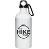 Accessories White / One Size I'd Hike That Water Bottle