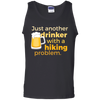 Apparel 100% Cotton Tank Top / Black / Small Just another beer drinker... Template