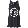 Apparel Bella+Canvas Flowy Racerback Tank / Black / Small I'd Hike That! Flowy Tank