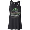 Apparel Bella+Canvas Flowy Racerback Tank / Black / Small If it Involves Mountains, Coffee or Beer... Count Me In!
